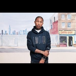 I AM OTHER HOODIE PHARRELL X UNIQLO COLLAB SZ S